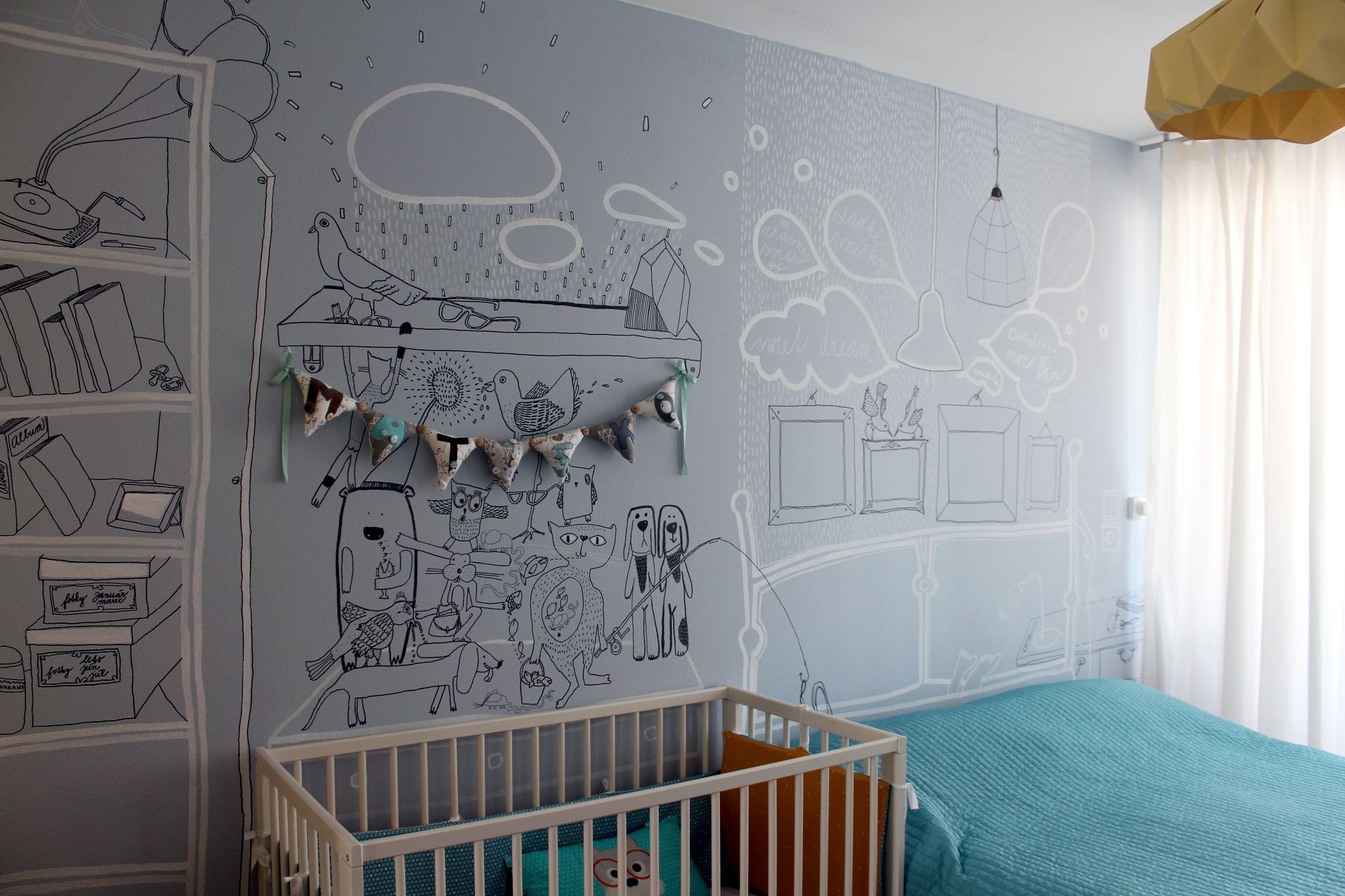 Kreslí na steny detských izieb dinosaury či pamätihodnosti Bratislavy - #189