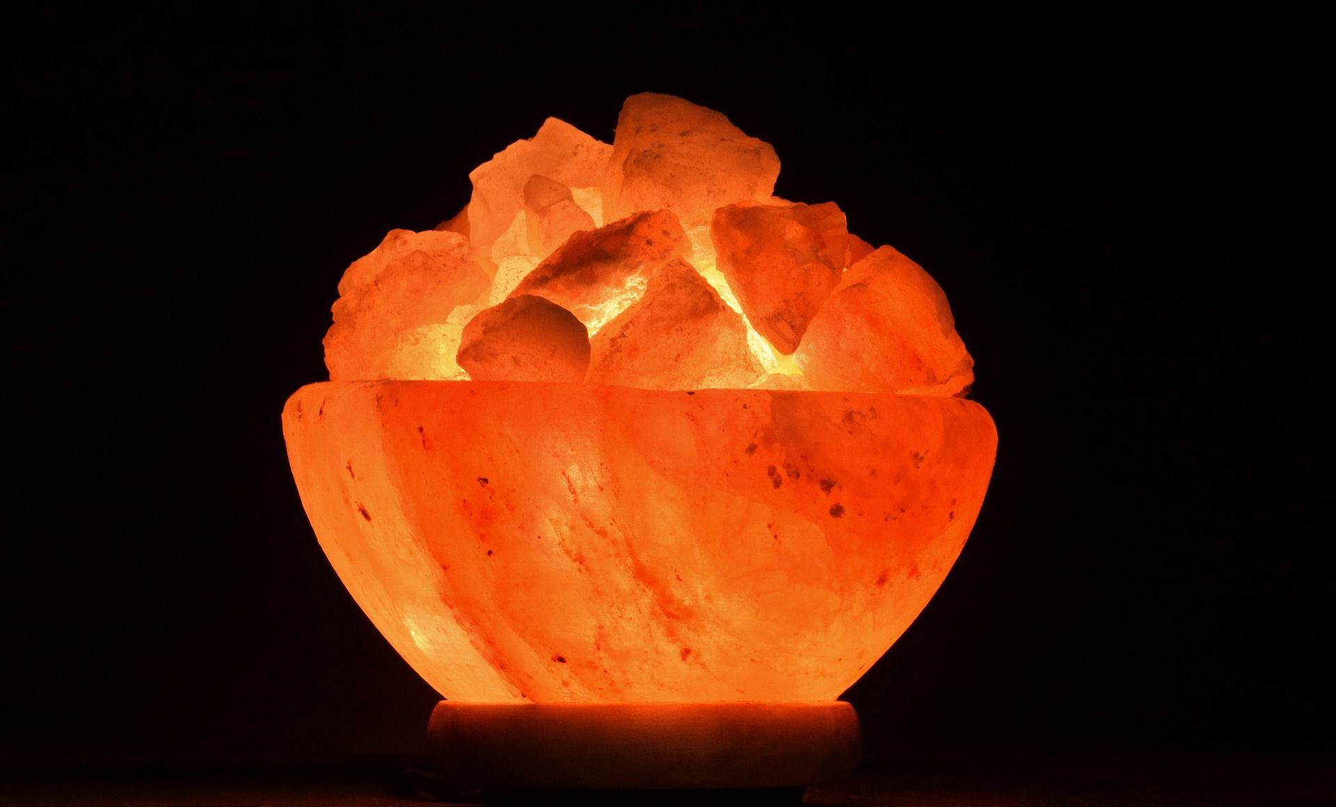 Na čo slúži soľná lampa